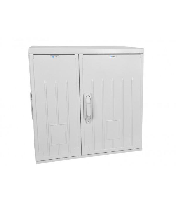 ЦМО! Шкаф уличный всепогодный настенный 12U (Ш600 х Г300), полиэстер, дверь двухстворчатая (ШТВ-НП-12.6.3-8ААА) - Телекоммуникационные шкафы, ящики