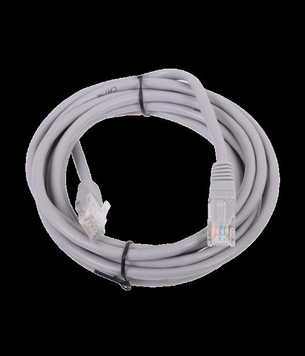 Патчкорд литой  Telecom NA102--1.5M UTP CAT5E серый 1.5M - Патчкорд медный
