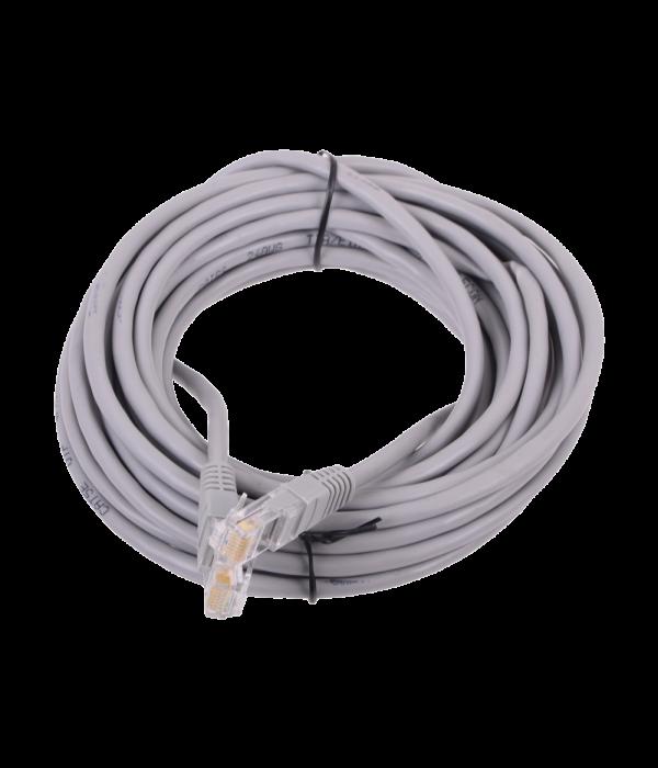 Патчкорд литой  Telecom NA102--5M UTP CAT5E серый 5M
