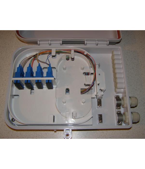 Уличный сплиттер 1х16 - Оптические разветвитель (Сплиттер)