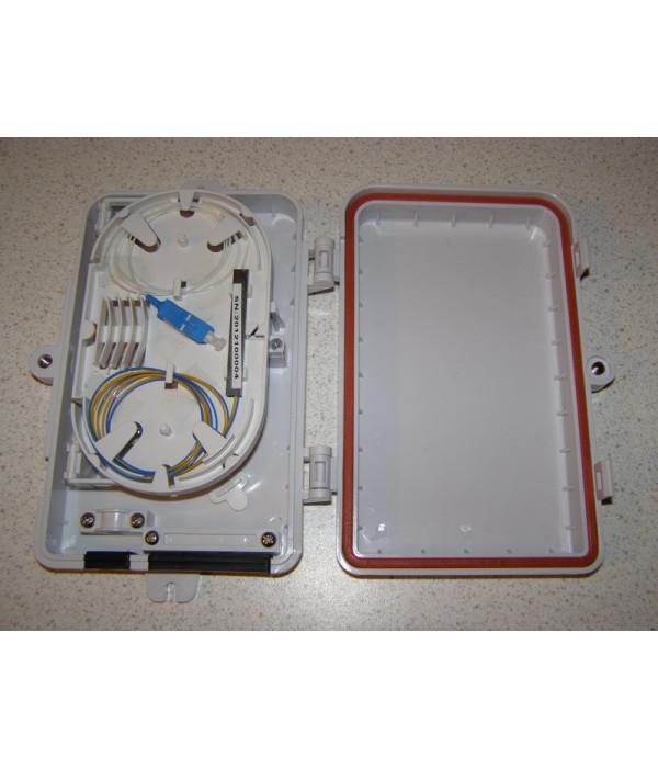 Уличный сплиттер 1х4 - Оптические разветвитель (Сплиттер)
