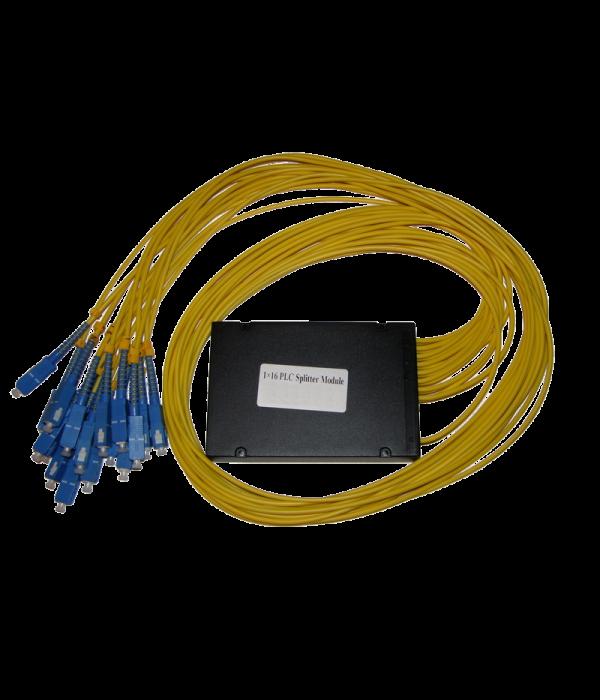 Модульный PLC сплиттер 1х16 - Оптические разветвитель (Сплиттер)
