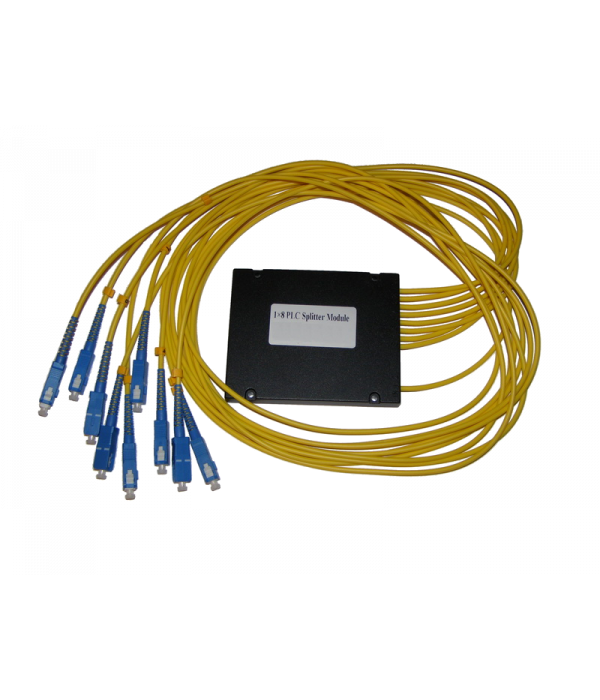Модульный PLC сплиттер 1х8