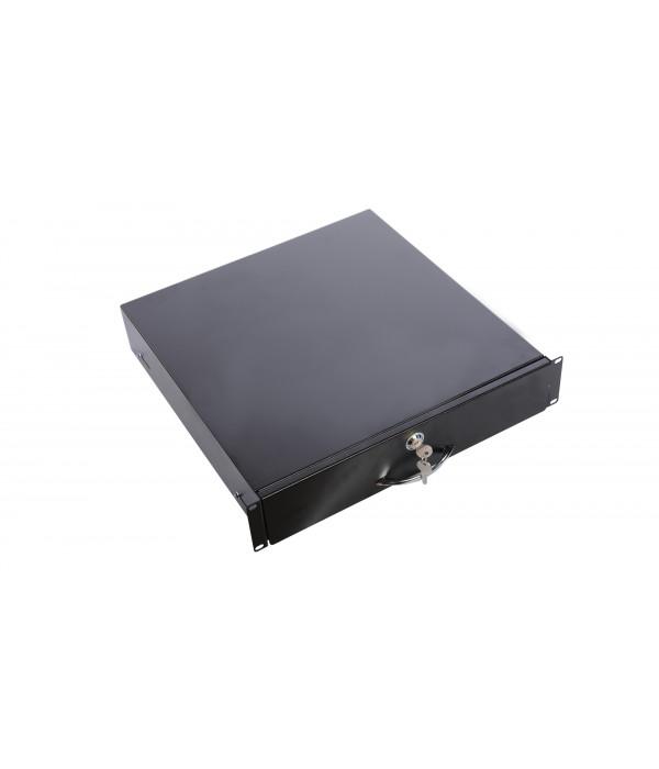 ЦМО Полка (ящик) для документации 2U (ТСВ-Д-2U.450-9005) черный цвет - Аксессуар для коммуникационных шкафов