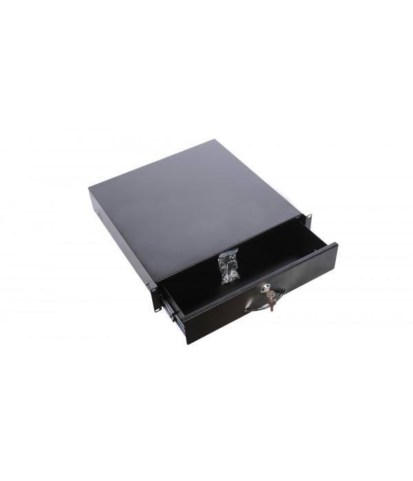 ЦМО Полка (ящик) для документации 3U (ТСВ-Д-3U.450-9005) - Аксессуар для коммуникационных шкафов