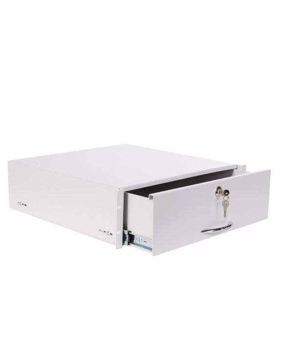 ЦМО Полка (ящик) для документации 3U (ТСВ-Д-3U.450) - Аксессуар для коммуникационных шкафов