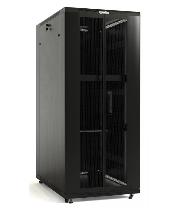 Hyperline TTB-4768-DD-RAL9004 - Телекоммуникационные шкафы, ящики