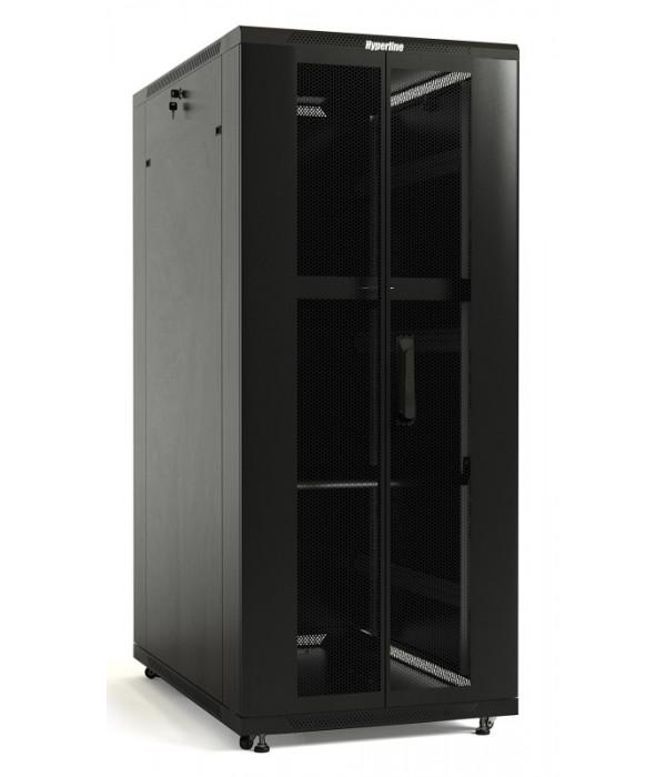 Hyperline TTB-4781-DD-RAL9004 - Телекоммуникационные шкафы, ящики