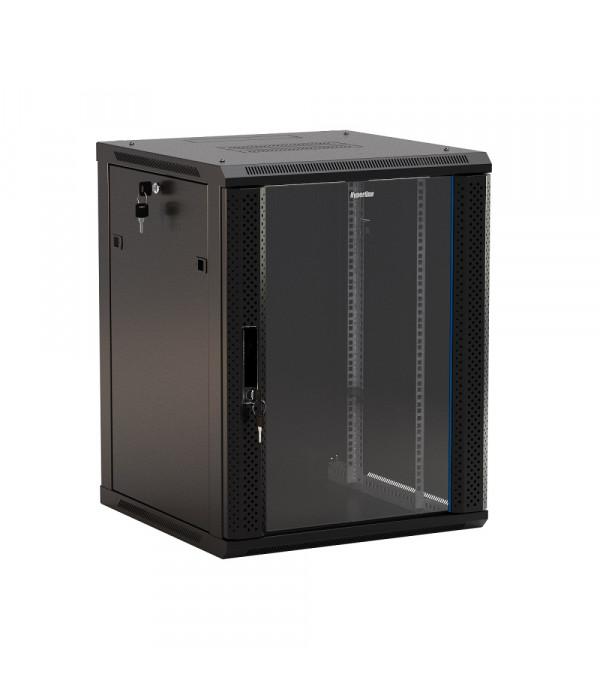 Hyperline TWB-1566-GP-RAL9004 - Телекоммуникационные шкафы, ящики