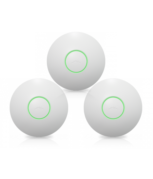 Ubiquiti UniFi AP LR 3 pack - Точка доступа