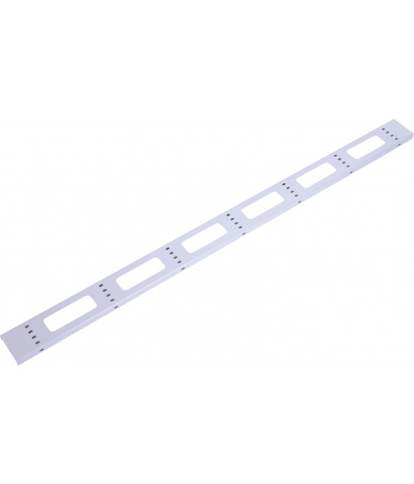 ЦМО Вертикальный кабельный органайзер для стойки внешний с окнами, ширина 95мм 33U (ВКО-СТК-33) - Кабельный организатор