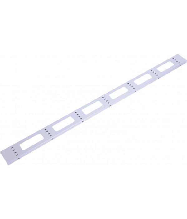 ЦМО Вертикальный кабельный органайзер для стойки внешний с окнами, ширина 95мм 42U (ВКО-СТК-42) - Кабельный организатор