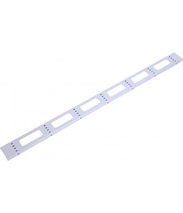ЦМО Вертикальный кабельный органайзер для стойки внешний с окнами, ширина 95мм 47U (ВКО-СТК-47) - Кабельный организатор