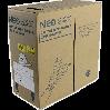 NEOMAX [NM10000] Кабель UTP cat.5e  2 пары (500 м) 0.51мм  Медь