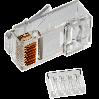 Neomax Коннектор UTP RJ45 под однож. кабель (с вставкой), Кат.5 (100шт.) [P88RB03V2I]