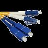 Патч-корд duplex SUPRLAN SC/UPC-LC/UPC 1м
