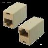 VCOM VTE7713-1/10 Модуль RJ-45 - RJ-45 проходной, кат. 5e (10 шт. в уп-ке), блистер