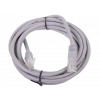 Патчкорд литой  Telecom NA102--1.5M UTP CAT5E серый 1.5M